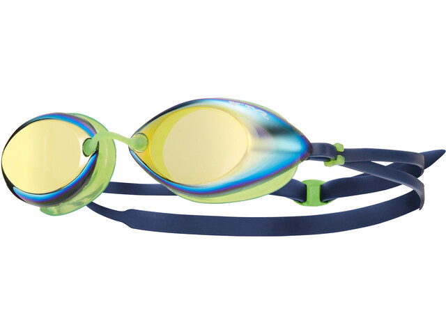 TYR Tracer Racing Mirrored Gafas, gold/green